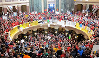 WI Capitol rotunda-protesters200px.jpg